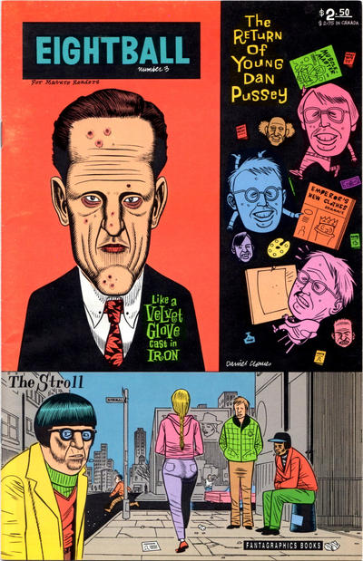Cover for Eightball (Fantagraphics, 1989 series) #3