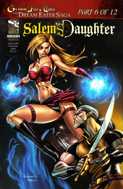 "Cover for Grimm Fairy Tales: Dream Eater Saga (Zenescope Entertainment, 2011 series) #6 [San Diego Comic-Con ""Day"" Exclusive]"