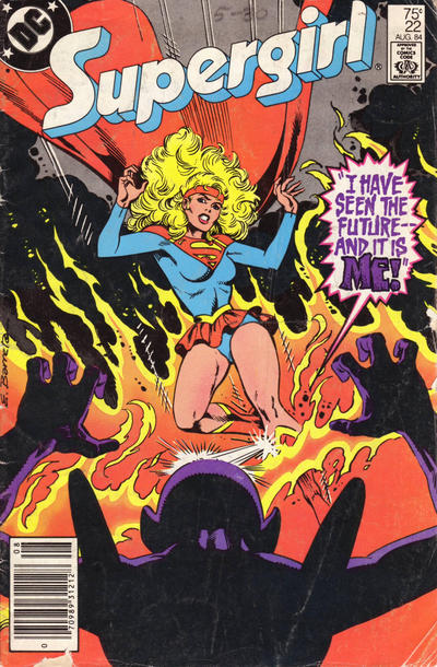 Cover for Supergirl (DC, 1983 series) #22 [Direct]