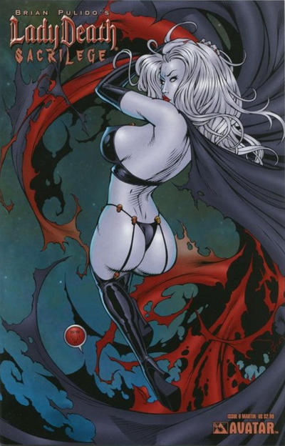 Cover for Brian Pulido's Lady Death: Sacrilege (Avatar Press, 2006 series) #0