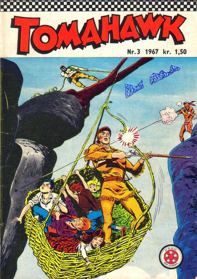 Cover for Tomahawk (Serieforlaget / Se-Bladene / Stabenfeldt, 1965 series) #3/1967