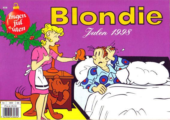 Cover for Blondie (Hjemmet / Egmont, 1997 series) #1998
