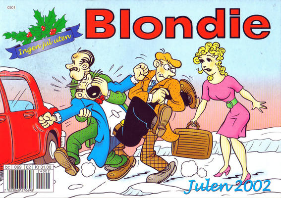 Cover for Blondie (Hjemmet / Egmont, 1941 series) #2002