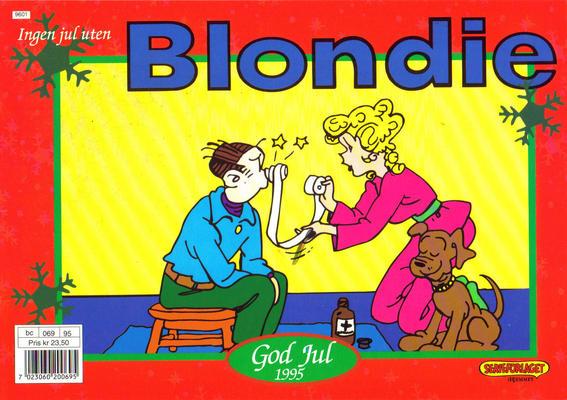Cover for Blondie (Hjemmet / Egmont, 1941 series) #1995