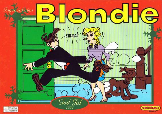 Cover for Blondie (Hjemmet / Egmont, 1941 series) #1994