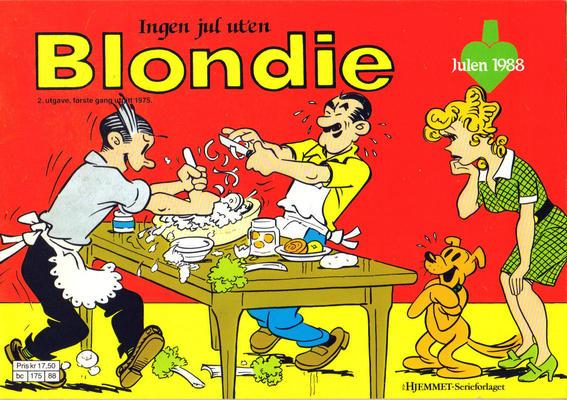 Cover for Blondie (Hjemmet / Egmont, 1941 series) #1988
