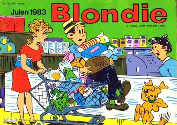 Cover for Blondie (Hjemmet / Egmont, 1941 series) #1983
