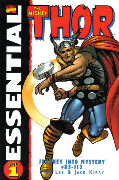 Cover for Essential Thor (Marvel, 2001 series) #1 [Second Printing]