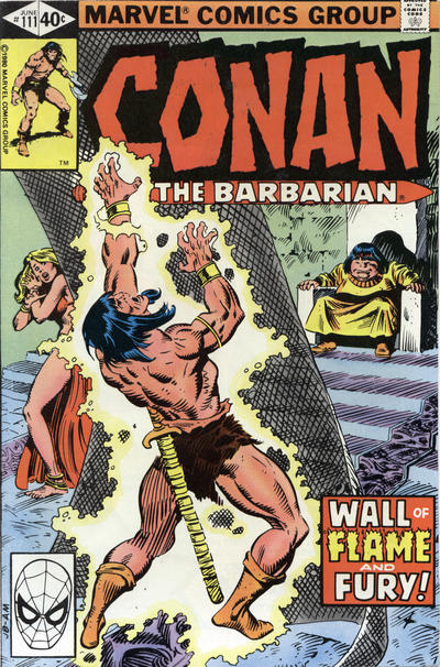 Cover for Conan the Barbarian (Marvel, 1970 series) #111 [Newsstand Edition]