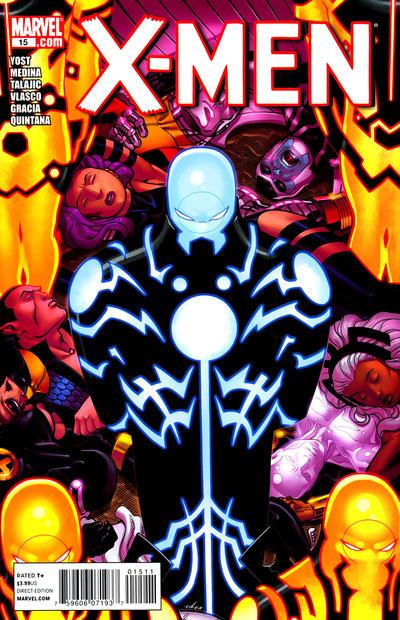 Cover for X-Men (Marvel, 2010 series) #15