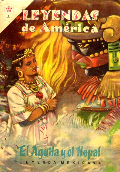 Cover for Leyendas de América (Editorial Novaro, 1956 series) #2