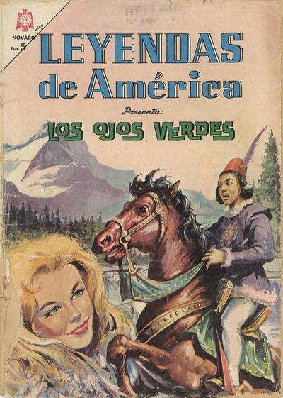 Cover for Leyendas de América (Editorial Novaro, 1956 series) #119