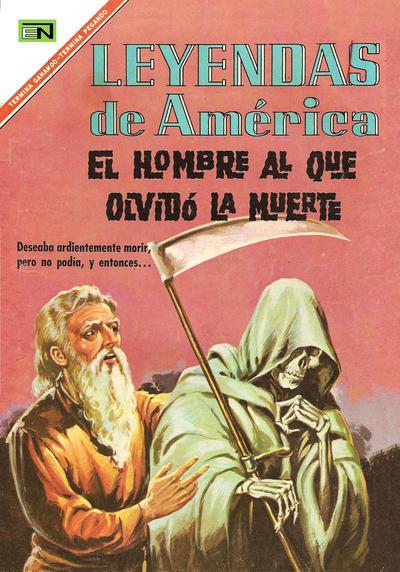 Cover for Leyendas de América (Editorial Novaro, 1956 series) #138