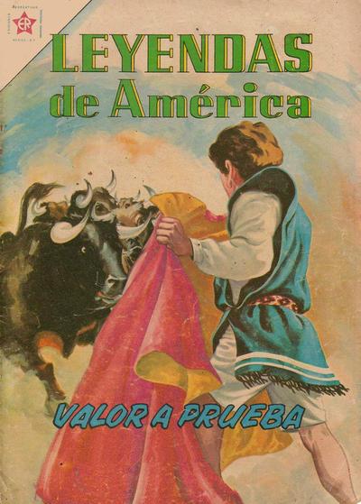 Cover for Leyendas de América (Editorial Novaro, 1956 series) #73