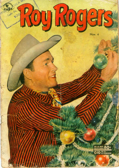 Cover for Roy Rogers (Editorial Novaro, 1952 series) #4