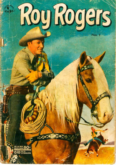 Cover for Roy Rogers (Editorial Novaro, 1952 series) #5