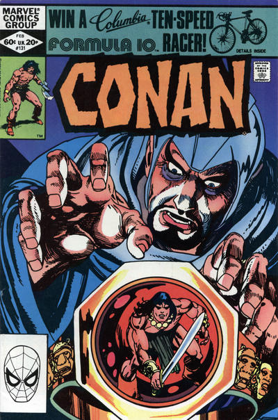 Cover for Conan the Barbarian (Marvel, 1970 series) #131 [Newsstand Edition]
