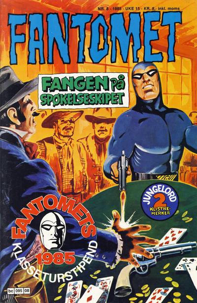 Cover for Fantomet (Semic, 1976 series) #8/1985