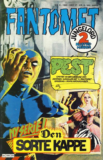 Cover for Fantomet (Semic, 1976 series) #9/1985