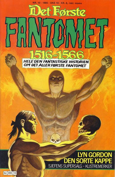 Cover for Fantomet (Semic, 1976 series) #10/1985