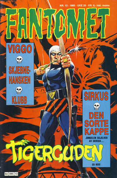 Cover for Fantomet (Semic, 1976 series) #13/1985