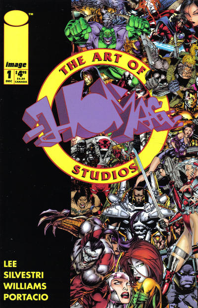 Cover for The Art of Homage Studios (Image, 1993 series) #1