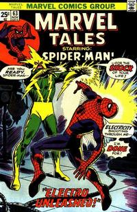 Cover Thumbnail for Marvel Tales (Marvel, 1966 series) #63