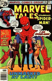 Cover Thumbnail for Marvel Tales (Marvel, 1966 series) #68 [25¢ Cover Price]