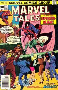 Cover Thumbnail for Marvel Tales (Marvel, 1966 series) #72