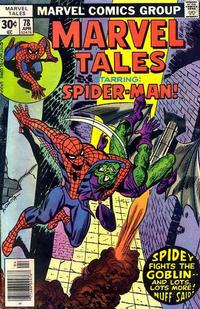 Cover Thumbnail for Marvel Tales (Marvel, 1966 series) #78