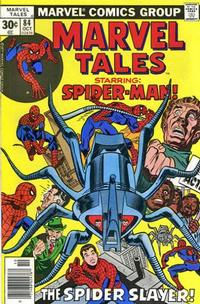 Cover Thumbnail for Marvel Tales (Marvel, 1966 series) #84 [30 cent cover price]