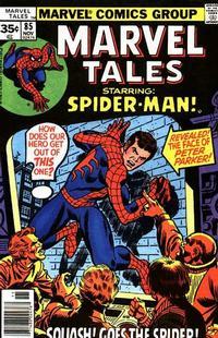 Cover Thumbnail for Marvel Tales (Marvel, 1966 series) #85 [Regular Edition]