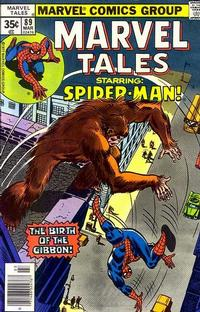 Cover Thumbnail for Marvel Tales (Marvel, 1966 series) #89