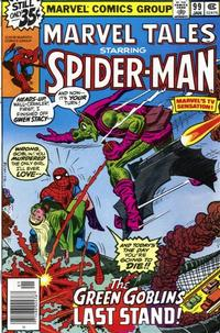 Cover Thumbnail for Marvel Tales (Marvel, 1966 series) #99