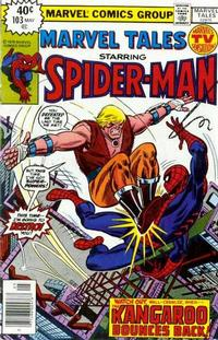 Cover Thumbnail for Marvel Tales (Marvel, 1966 series) #103