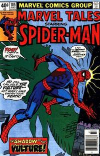 Cover Thumbnail for Marvel Tales (Marvel, 1966 series) #105 [Newsstand]