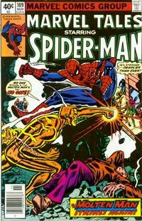 Cover Thumbnail for Marvel Tales (Marvel, 1966 series) #109 [Newsstand]