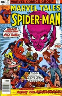 Cover Thumbnail for Marvel Tales (Marvel, 1966 series) #115 [Newsstand]