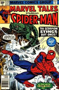 Cover Thumbnail for Marvel Tales (Marvel, 1966 series) #122