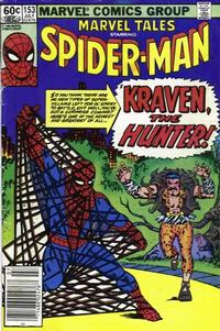 Cover Thumbnail for Marvel Tales (Marvel, 1966 series) #153