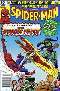Cover Thumbnail for Marvel Tales (Marvel, 1966 series) #155 [Newsstand Edition]
