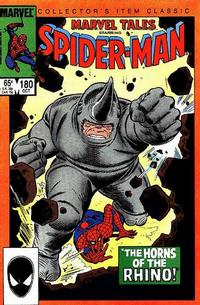 Cover Thumbnail for Marvel Tales (Marvel, 1966 series) #180 [Direct Edition]