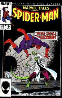 Cover for Marvel Tales (Marvel, 1966 series) #184 [Direct]