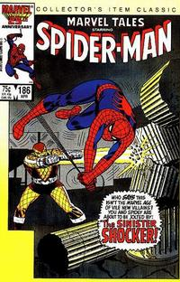 Cover Thumbnail for Marvel Tales (Marvel, 1966 series) #186 [Direct]