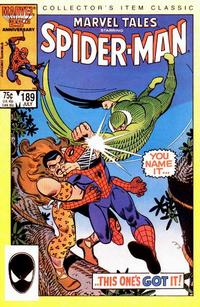 Cover Thumbnail for Marvel Tales (Marvel, 1966 series) #189 [Direct Edition]