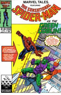 Cover Thumbnail for Marvel Tales (Marvel, 1966 series) #191 [Direct]