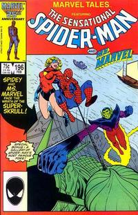 Cover for Marvel Tales (Marvel, 1966 series) #196 [Direct]