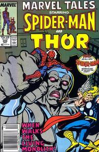Cover Thumbnail for Marvel Tales (Marvel, 1966 series) #206 [Newsstand]