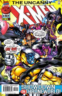 Cover Thumbnail for The Uncanny X-Men (Marvel, 1981 series) #344 [Direct Edition]