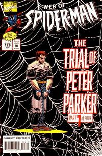 Cover Thumbnail for Web of Spider-Man (Marvel, 1985 series) #126 [Direct Edition]